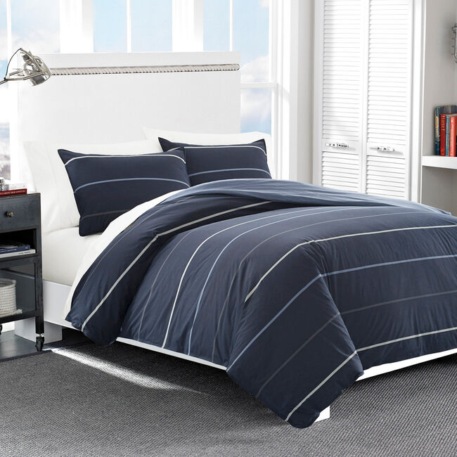 Southport Duvet Set,Pure Dark Pacific Wash,large