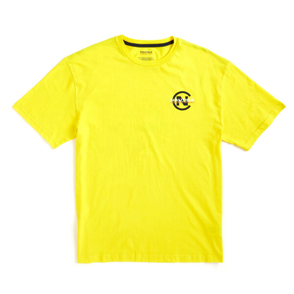 Lil Yachty by Nautica Competition Logo Tee - Canary
