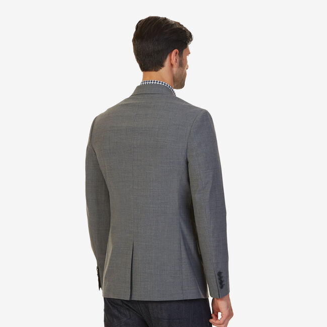 Soft Shoulder Blazer,Dark Graphite heather,large