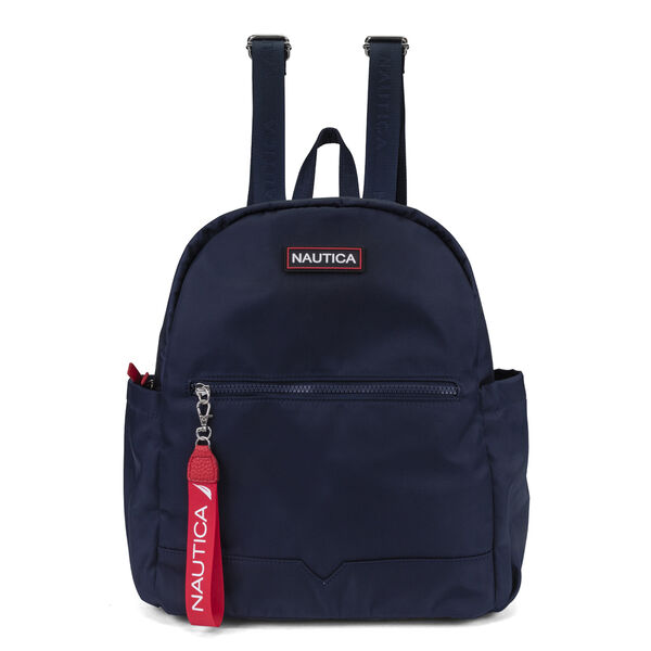 DIVER CANVAS BACKPACK - Navy