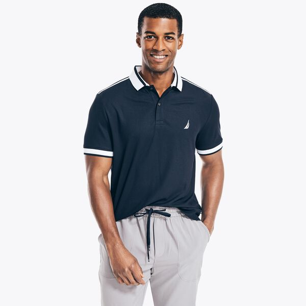 NAVTECH SUSTAINABLY CRAFTED CLASSIC FIT POLO - Navy