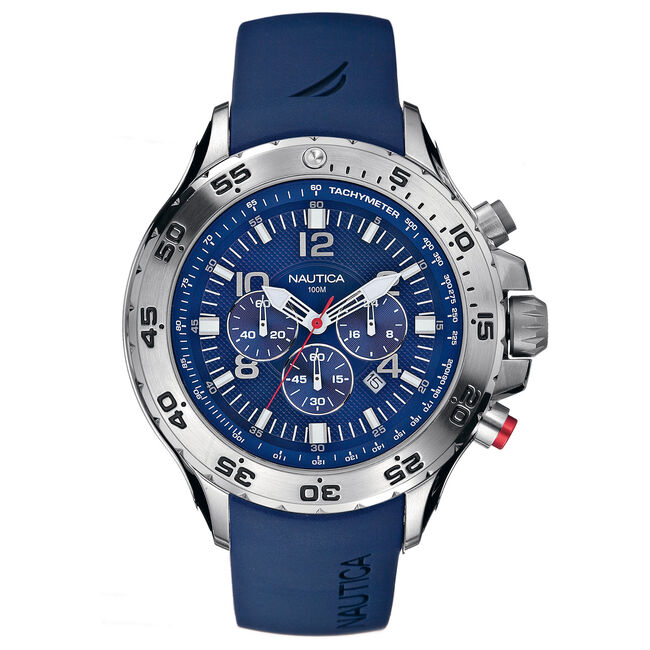 NST Chronograph Watch - Blue,Multi,large