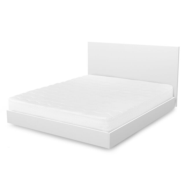 Memory Fiber Full Mattress Pad,Bright White,large