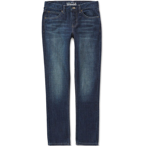 Little Boys' Hart Skinny Fit Jeans (4-7) - Bayberry Blue