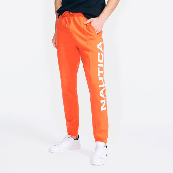COMPETITION SIDE LOGO GRAPHIC JOGGER - Nautica Red