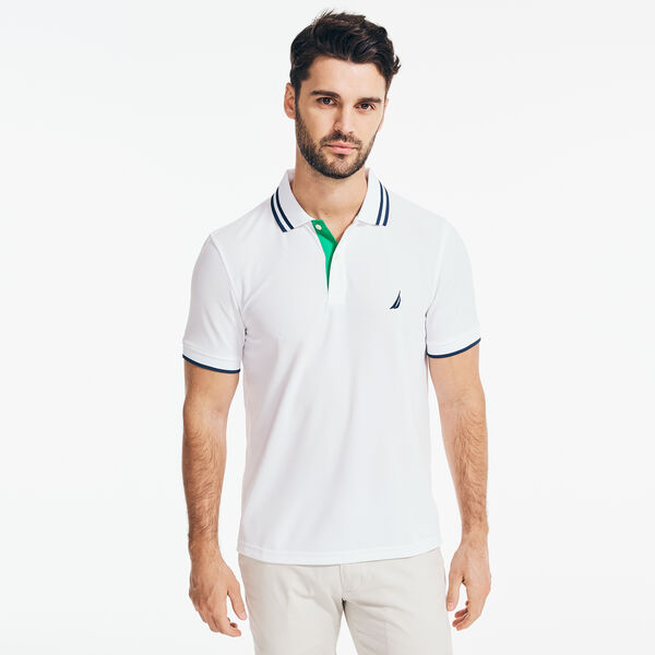 CLASSIC FIT PERFORMANCE J-CLASS POLO - Bright White