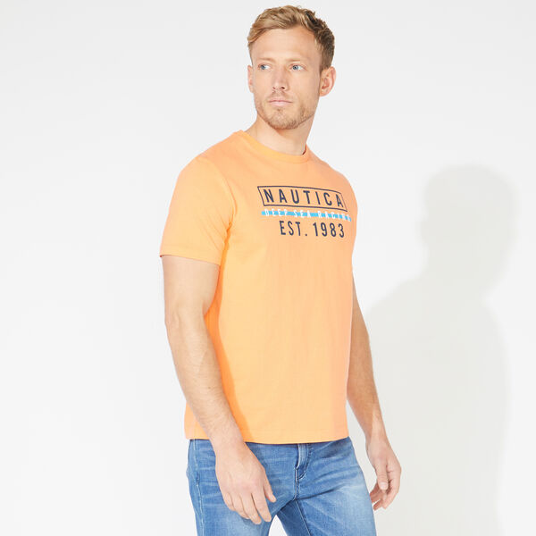 DEEP SEA RACING GRAPHIC TEE - Orange