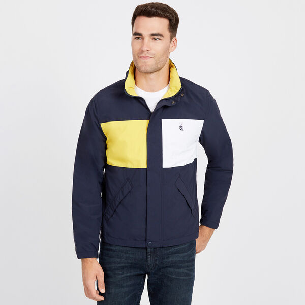 Spinnaker Reversible Bomber Jacket - Navy