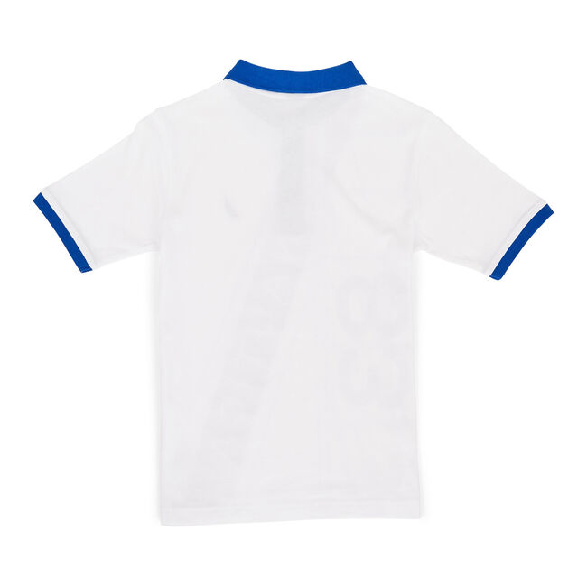 Toddler Boys' Ben Short Sleeve Heritage Polo (2T-4T),White,large