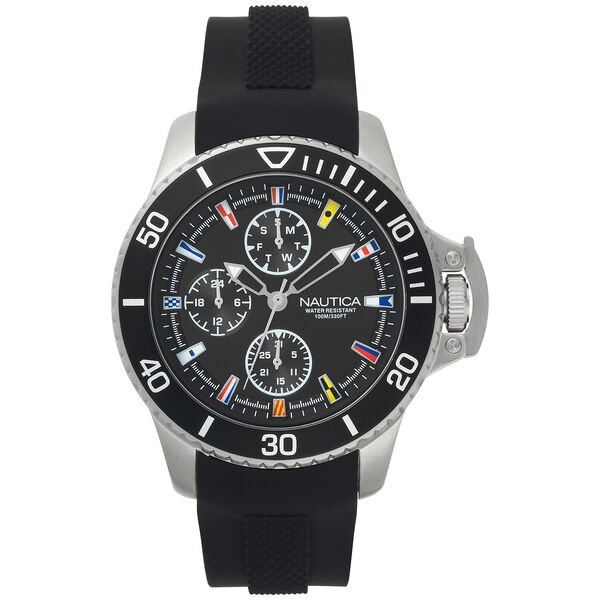 Bayside Multifunction Watch - Black - Multi