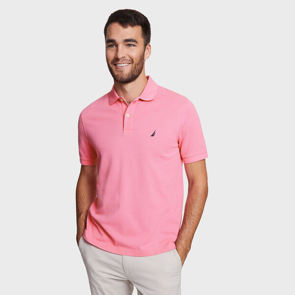 CLASSIC FIT DECK POLO - Carnation Pink