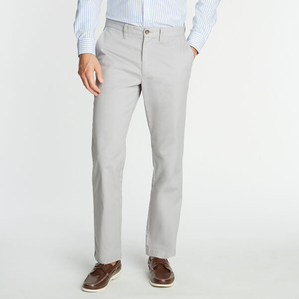 CLASSIC FIT WRINKLE-RESISTANT PANTS - Grey Alloy
