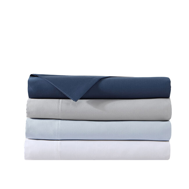 OCEANE SOLID BLUE SHEET SET,Multi,large