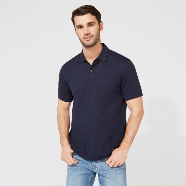 CLASSIC FIT PREMIUM COTTON POLO - Navy