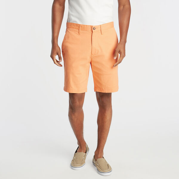 "8.5"" CLASSIC FIT DECK SHORTS WITH STRETCH - Frost Orange"