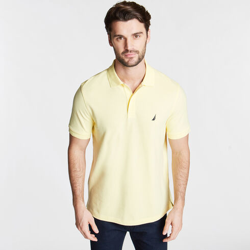 CLASSIC FIT PIQUÉ POLO - Light Mimosa