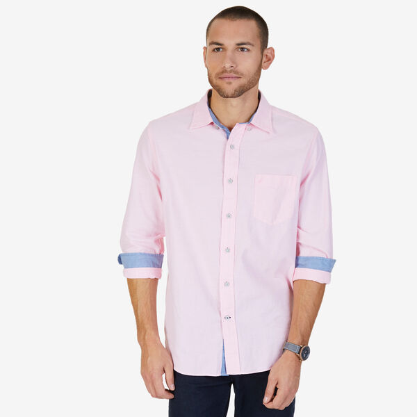 TWILL OXFORD SHIRT - Orchid Pink