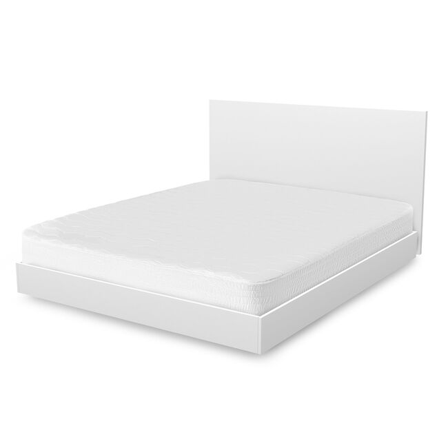 Hypoallergenic California King Mattress Cover,Bright White,large