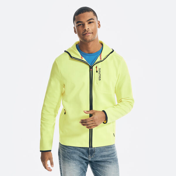 COMPETITION FULL-ZIP HOODIE - Blazing Yellow