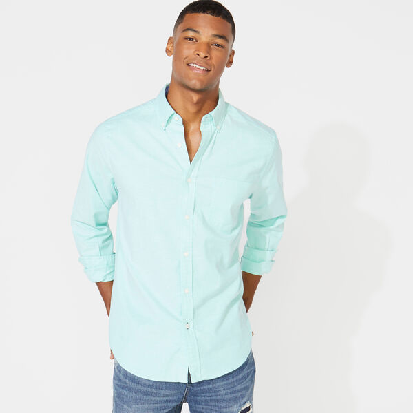 CLASSIC FIT LONG SLEEVE OXFORD SHIRT - Mint Spring