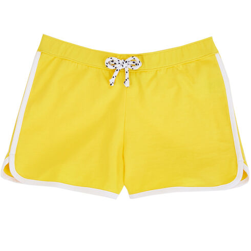 Girls' Dolphin Short (8-16) - Yellow (nrma Code)
