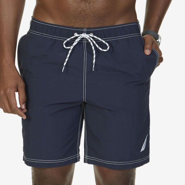 "8"" SIGNATURE SWIM TRUNK - Navy"