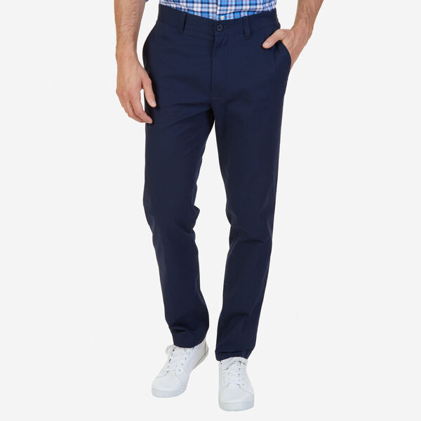 SLIM FIT STRETCH TWILL PANTS - Pure Dark Pacific Wash