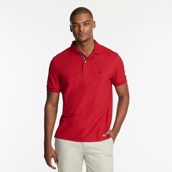 CLASSIC FIT PERFORMANCE DECK POLO - Nautica Red