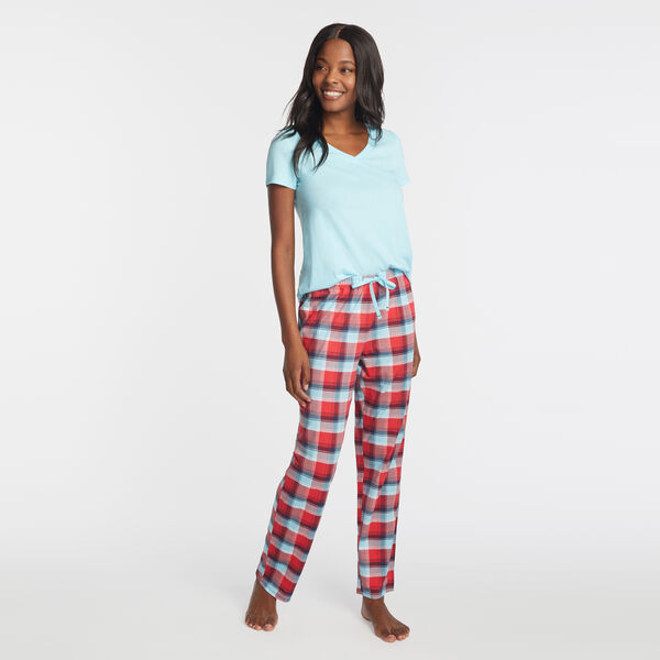 PLAID SLEEP SET - Lure Red