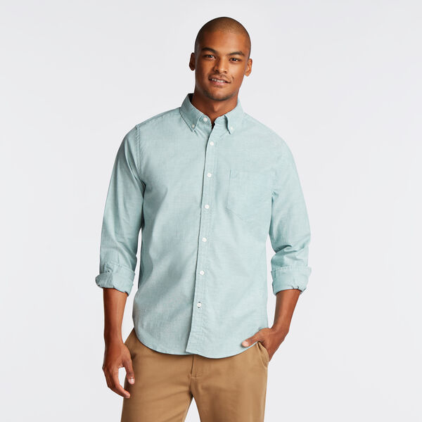 CLASSIC FIT LONG SLEEVE OXFORD SHIRT - Spruce