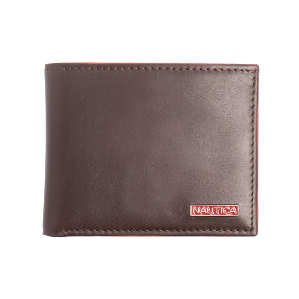 SMOOTH LEATHER PASSCASE - Brown Stone