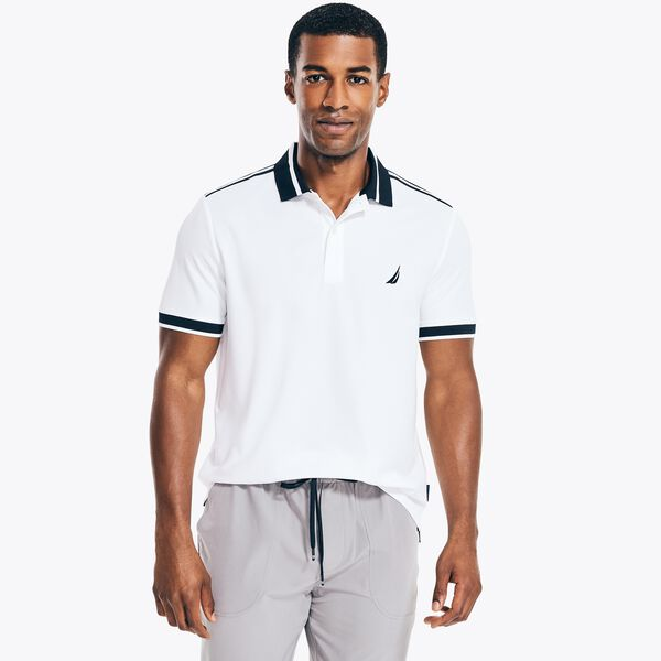 NAVTECH SUSTAINABLY CRAFTED CLASSIC FIT POLO - Bright White