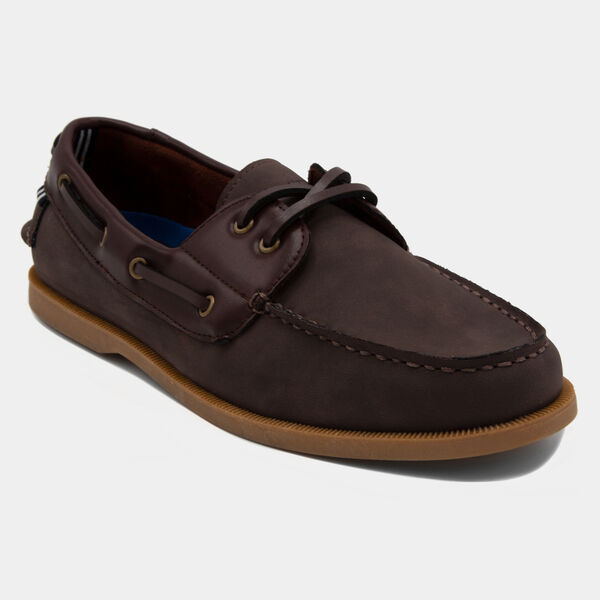 Nueltin 2 Boat Shoe in Brown - Boathouse Brown