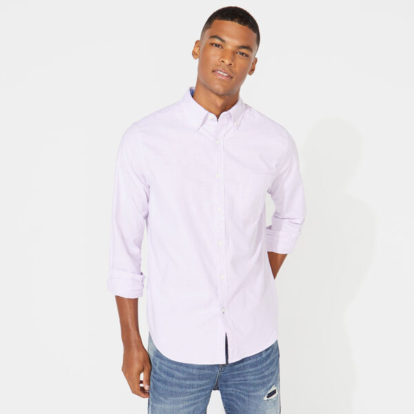 CLASSIC FIT LONG SLEEVE OXFORD SHIRT - Lavendula