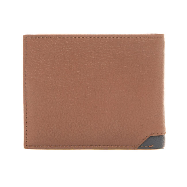 DAVEY TRAVELER BIFOLD WALLET IN TAN,Military Tan,large
