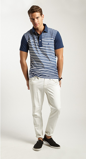 Not Just Navy + Polo Shirt and Pants