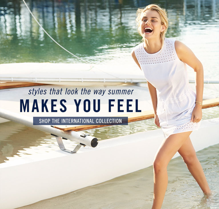 Makes You Feel - Shop International Collection