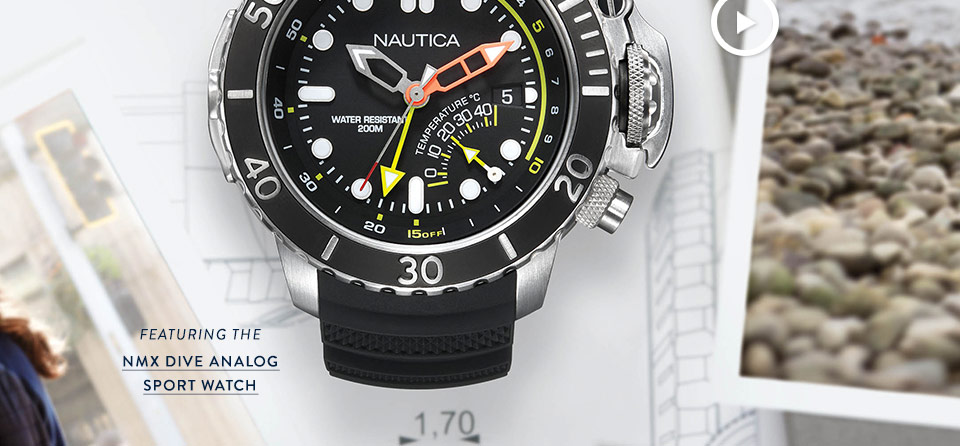 Shop NMX Dive Analog Sport Watch