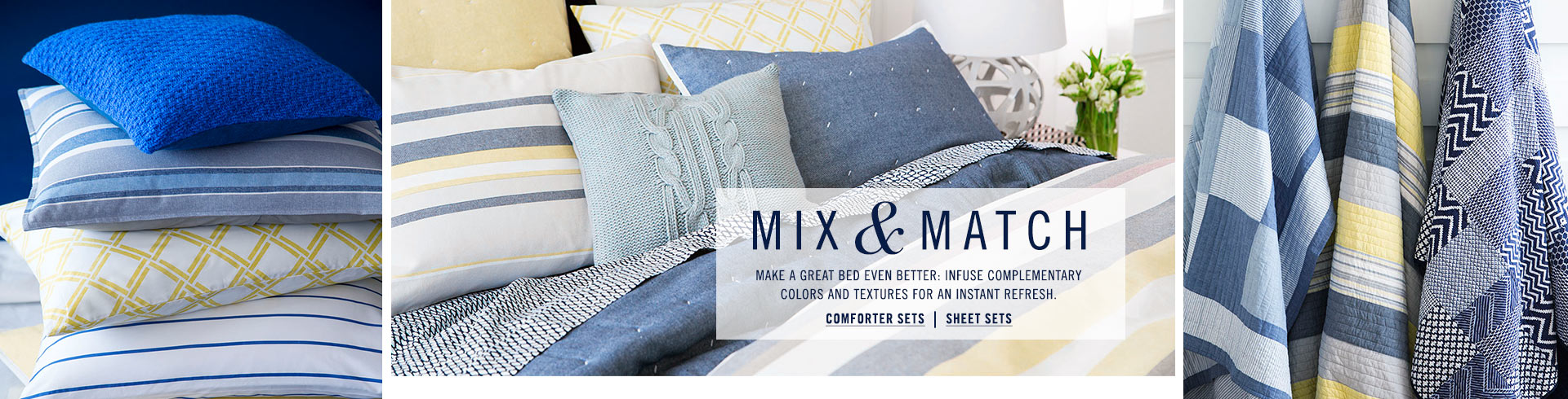 Mix and Match Comforters