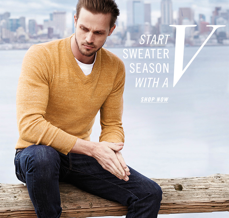 Start Sweater Season with a V