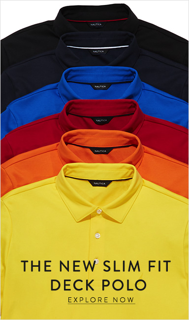 The New Slim Fit Deck Polo Shirts