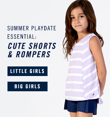 Girls Shorts and Rompers