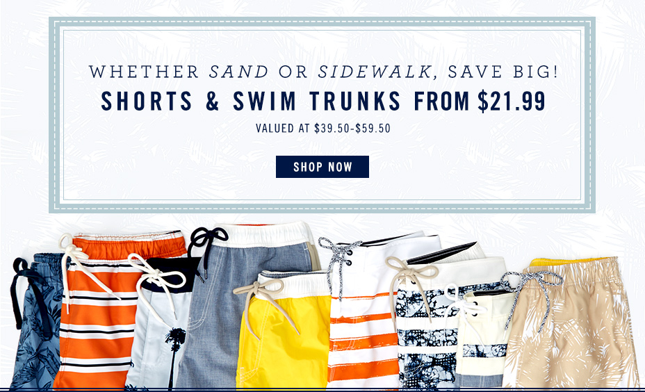 Men's Swim from $21.99