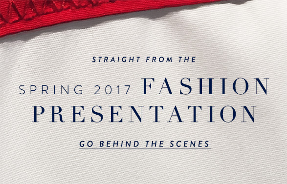 Spring 2017 Fashion Presentation