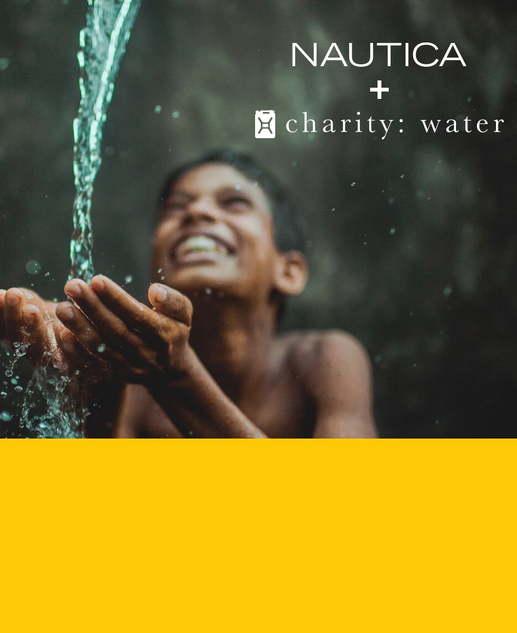 NAUTICA CHARITY WATER