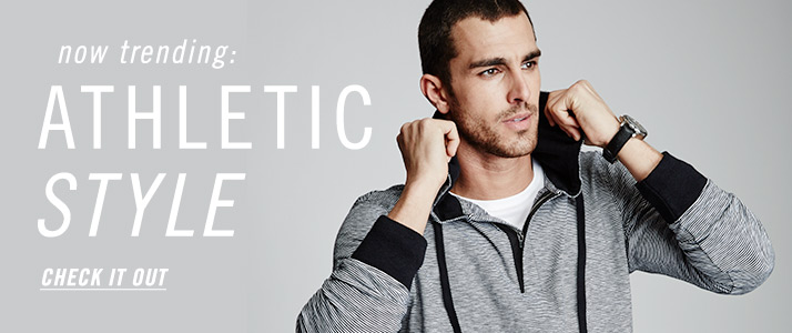Now Trending: Athletic Style