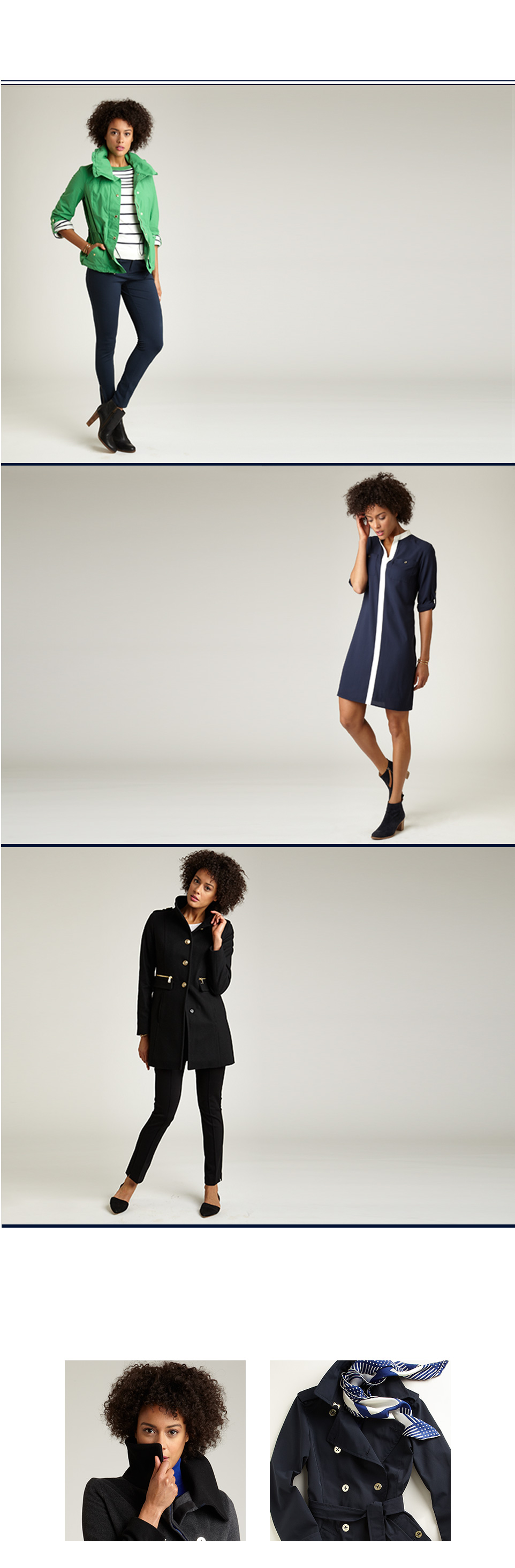 The Fall Style Guide: The Nylon Anorak Jacket, Colorlessblock Shirt Dress, Pintuck Ponte Pant