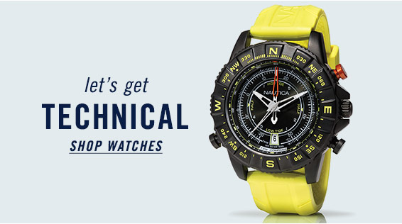 Let's Get Technical - Shop Watches