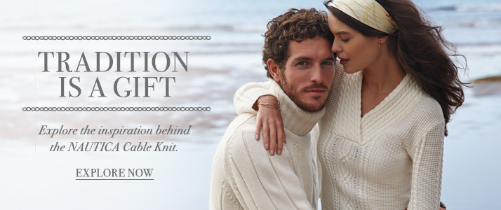 The Nautica Cable Knit